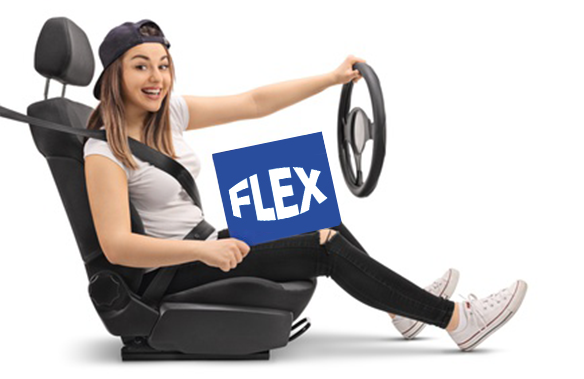 flex traffic driving school